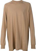 Rick Owens oversized longsleeved T-shirt