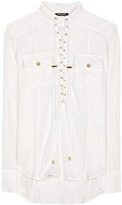 Balmain Batiste cotton shirt