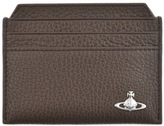 Vivienne Westwood Leather Card Holder Brown
