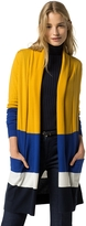 Tommy Hilfiger Colorblocked Long Cardigan