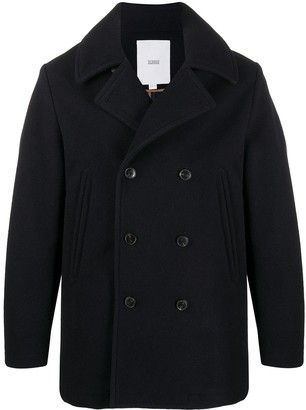 Closed Double-Breasted Peacoat