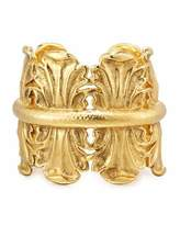 Jose & Maria Barrera Sculpted Golden Cuff Bracelet