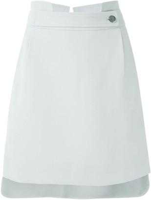 Egrey Straight Short Skirt