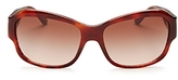 Tory Burch Square Sunglasses, 56mm