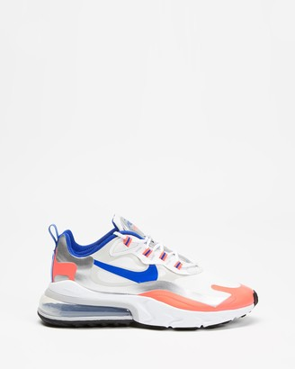 Nike Women's White Low-Tops - Air Max 270 React - Women's - Size 6 at The Iconic