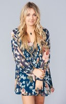 MUMU Donna Michelle Tunic ~ Fall in Love Floral