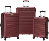 Thumbnail for your product : Traveler's Choice Savannah 3Pc Hardside Spinner Luggage Set