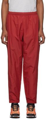 Nike Red NRG Track Pants
