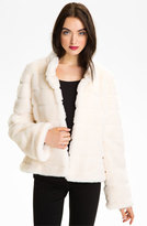 Kristen Blake Women's Faux Fur Jacket