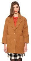 PepaLoves Pepa Loves Women's SOFIA Reefer Long Sleeve Coat