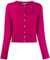N.Peal buttoned cashmere cardigan