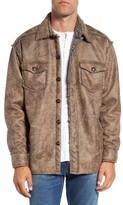 True Grit Men's Lined Tweed Shirt Jacket