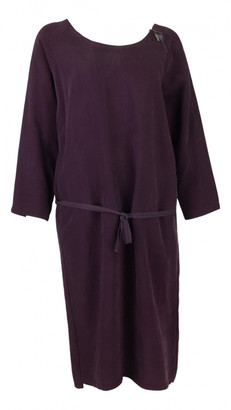 Humanoid Purple Viscose Dresses