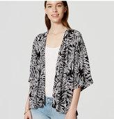 LOFT Petite Fern Kimono Jacket