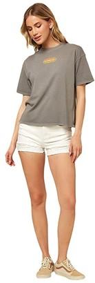 O'Neill Care Free T-Shirt (Smoked Pearl) Women's T Shirt