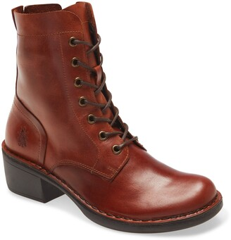 Fly London Milu Lace-Up Leather Boot