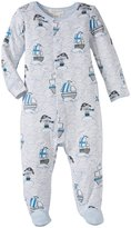 Angel Dear Pirate Pup Footie (Baby) - Blue-3-6 Months