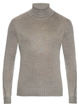 Lanvin Roll-neck Fine-knit Sweater