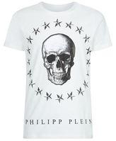 Philipp Plein Around The World Skull T-shirt