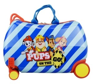 Paw Patrol Nickelodeon Boys Ride-on Cruizer Carry on Luggage