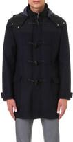Armani Collezioni Toggle-detail wool and cashmere-blend coat