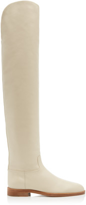 Brock Collection Leather Over The Knee Boots