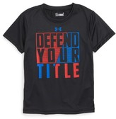Under Armour Toddler Boy's Defend Your Title Graphic Heatgear T-Shirt