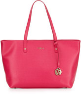Furla Daisy Medium Leather Tote Bag, Gloss