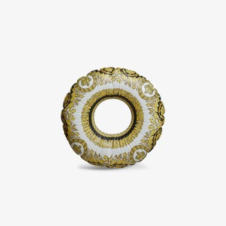 Versace Multicoloured Baroque Print Inflatable Ring