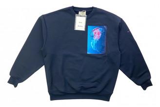 Acne Studios Blue Cotton Knitwear & Sweatshirts