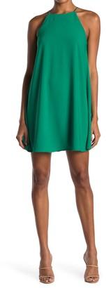 MelloDay Sleeveless Mini Swing Dress