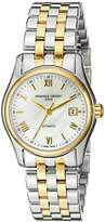 Frederique Constant Women's FC303MPWN1B3B Classics Analog Display Swiss Automatic Yellow Watch