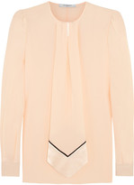 Givenchy Blouse In Pastel-pink Silk Crepe De Chine - Pastel pink