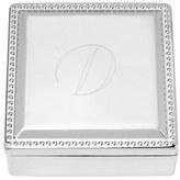 Cathy's Concepts Monogram Jewelry Box - Metallic
