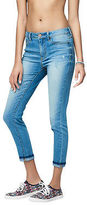 Aeropostale Womens Seriously Stretchy Light Wash High-Waisted Crop Jegging