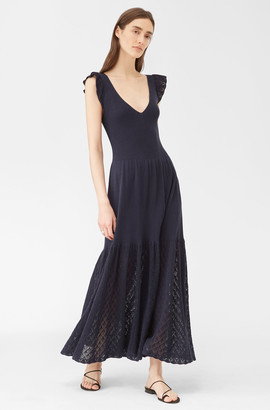 Rebecca Taylor La Vie Chandelier Pointelle Dress