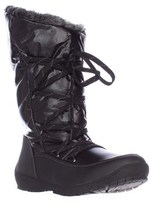 Sporto Charles Angled Calf Waterproof Winter Boots, Black.