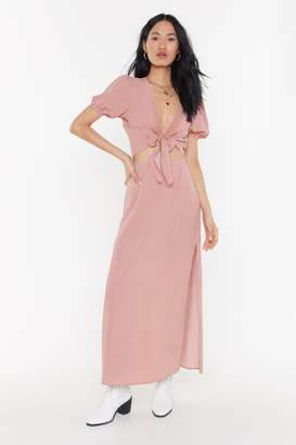 Nasty Gal Womens Step Out Of Line Striped Top And Skirt Set - Pink - 6, Pink
