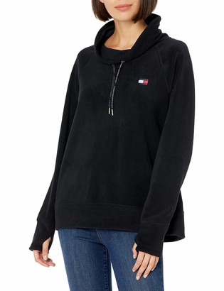 Tommy Hilfiger Women's Premium Performance Long Sleeve Fleece Pullover Sweatshirt