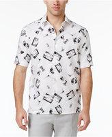 Tasso Elba Men's Linen Scenic Postcard Shirt, Only at Macy's