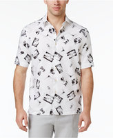 Tasso Elba Men's Scenic Postcard Shirt, Only at Macy's