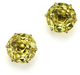 Ippolita 18K Gold Rock Candy® Medium Round Stud Earrings in Green-Gold Citrine