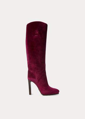 Ralph Lauren Remmy Velvet Boot