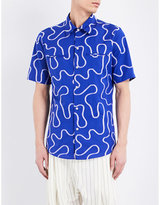 Vivienne Westwood Rattle Squiggle-print Cotton Shirt