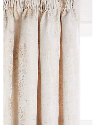 John Lewis & Partners Compton Pair Textured Lined Multiway Curtains