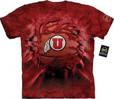 The Mountain Men's U of Utah Utes Bball Bt Adult T-Shirt