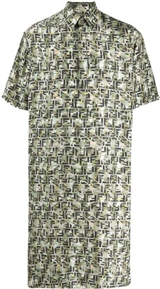 Fendi Super Oversized Logo Shirt
