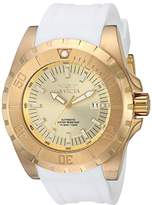 Invicta Men's 'Pro Diver' Automatic -Tone and Silicone Casual Watch