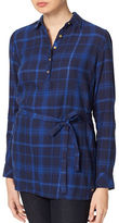Tommy Hilfiger Selena Plaid Tunic with Belt