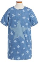 Stella McCartney Girl's 'Bess' Star Embroidered Denim Dress